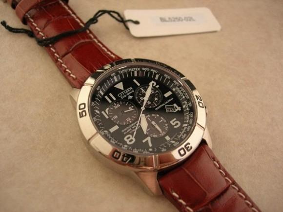 再次刷新低价,Citizen BL5250-02L 西铁城光动能飞行员手表