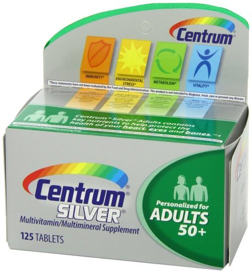 送父母好礼,Centrum善存50岁以上中老年配方维生素片