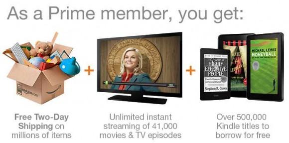 美国亚马逊Amazon  Prime计划 老用户可申请试用30天