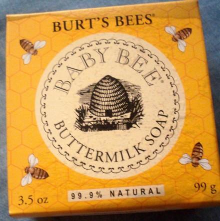 凑单小件,Burt's Bees 小蜜蜂婴儿天然牛奶润肤皂