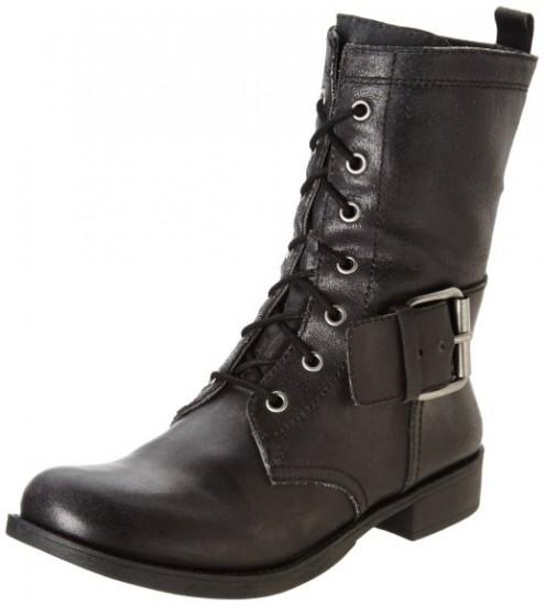 海淘女靴推荐,Nine West 玖熙 Technobeat 女款马丁靴