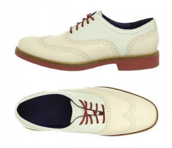 海淘可汗皮鞋,Cole Haan可汗 Jones男士雕花系带皮鞋