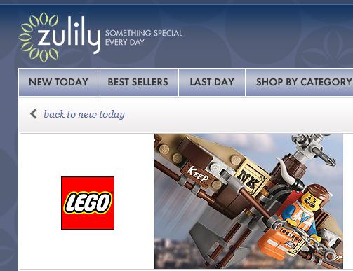 美国Zulily官网海淘,Lego 乐高周边商品、T恤衫特卖ING
