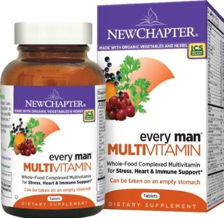 72粒低价,New Chapter 新章 40岁以下男性综合有机营养片
