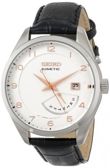 再次新低了,Seiko SRN049 精工人动电能男士手表