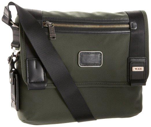海淘夏天背的包,TUMI 途米 11.5英寸男士邮差包