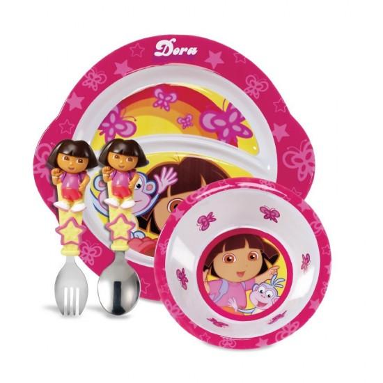 推荐两款特价的麦肯齐宝宝用品,戏水小丑鱼和餐具套装