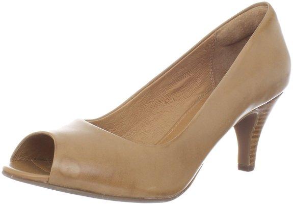 海淘女士凉鞋推荐,Clarks 其乐女士鱼嘴高跟皮鞋