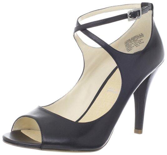 海淘女凉鞋,Rockport Presia 乐步真皮高跟鱼嘴凉鞋