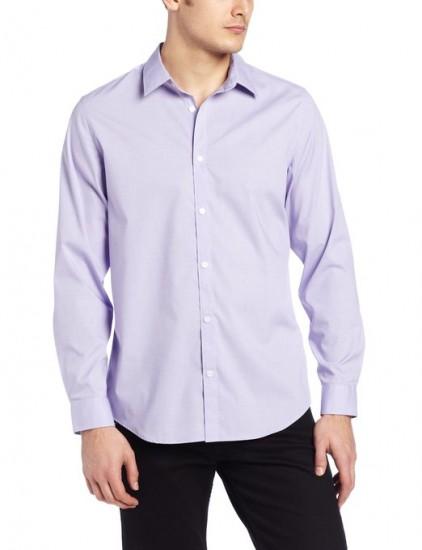 适合凑单,Calvin Klein 男士免熨衬衫