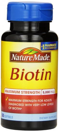 再创新低,码农必备,Nature Made 莱萃美 生物素 5000mcg 50粒