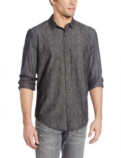 特价值得凑单,Calvin Klein 男士纯棉休闲衬衫