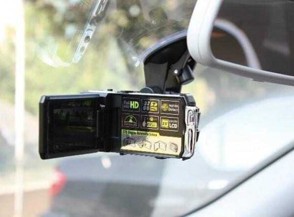 比秒杀还便宜200元,DOD F900LS 行车记录仪