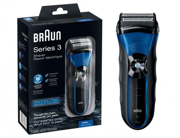 又到新低,Braun 340S-4 博朗新3系三刀头电动剃须刀