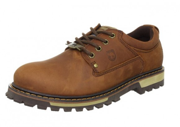 国内好价,Vancamel 西域骆驼 AD10102573 男士休闲皮鞋