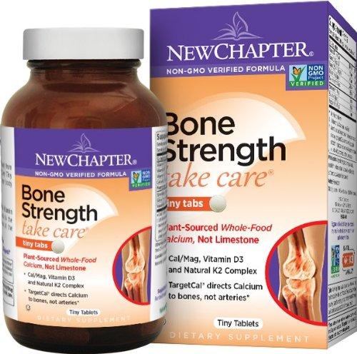 凑单新低,New Chapter 新章维骨力,有机植物钙骨骼强健配方