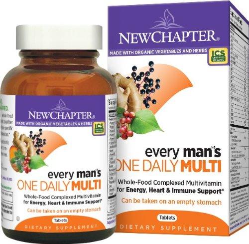 给那些辛苦的男人们,New Chapter 新章 40岁以下男性每日一片