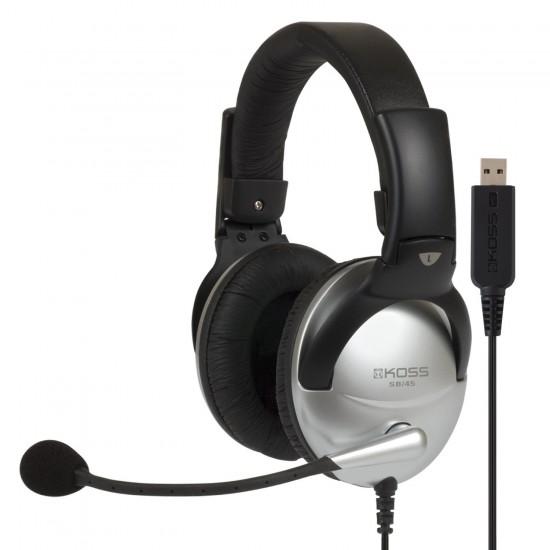 高斯两连发,托福GRE指定型号!KOSS SB45 高斯多媒体耳机