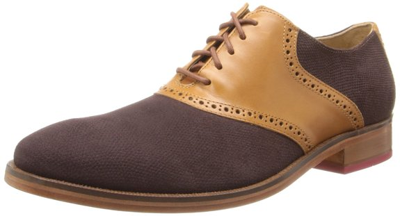 历史低价,Cole Haan 男士拼色牛津皮鞋