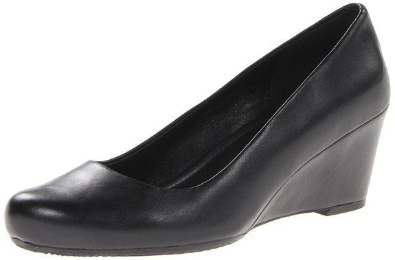 37以上有码,ECCO 爱步 2014款女士坡跟单鞋