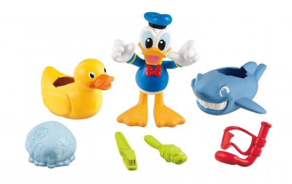 迟到的六一礼物,Fisher-Price 费雪迪斯尼大黄鸭玩具套装