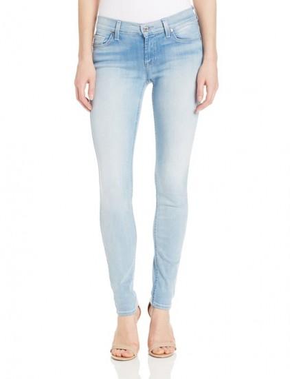 国内差价巨大,7 For All Mankind 女士修身弹力牛仔裤