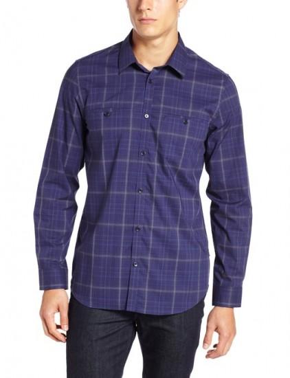 历史最低价,Calvin Klein 纯棉休闲衬衫