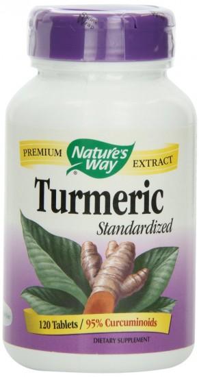仅剩6瓶,Nature's Way Turmeric 姜黄萃取精华素