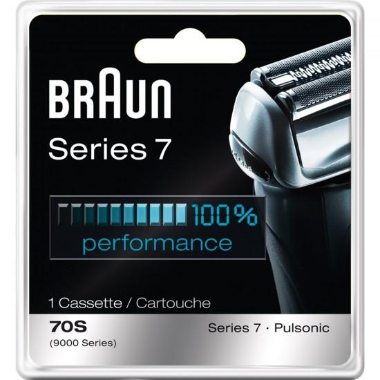 凑单吧,Braun 博朗 7系电动剃须刀替换刀头+网膜