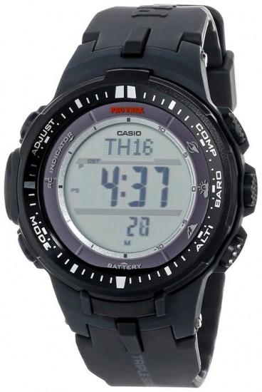 降到200刀了!Casio PRW-3000-1CR 卡西欧Protrek系列登山电波表