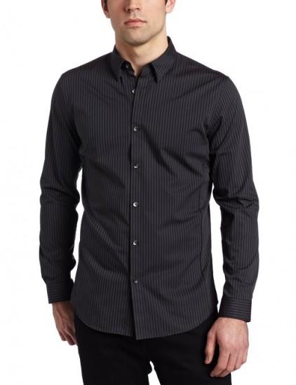 回归7月份最低价,Calvin Klein 男士修身长袖衬衫
