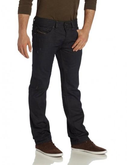 暴跌历史低价,DIESEL 迪赛 男士修身直筒牛仔裤