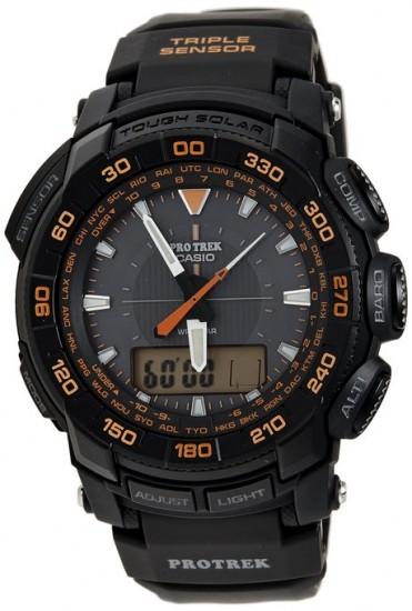 历史最低,Casio卡西欧 PRG550-1A4 登山系列太阳能手表