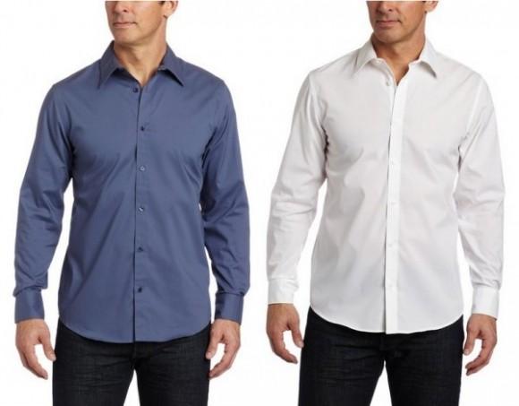 用券后历史新低,Calvin Klein 男士免熨长袖衬衫