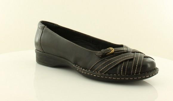 可用75折神券,Clarks Recent Kiko 其乐女士真皮平底鞋