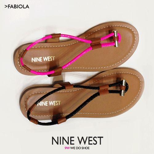 颜色太丰富了,Nine WestFabiola 玖熙女式系带凉鞋