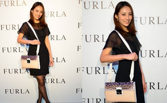 豹纹终于降到最低了,2014新款Furla 芙拉中号豹纹糖果斜挎女包