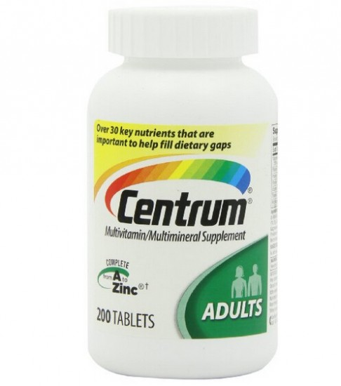 新低价又来了!Centrum 善存50岁以下成人综合维生素