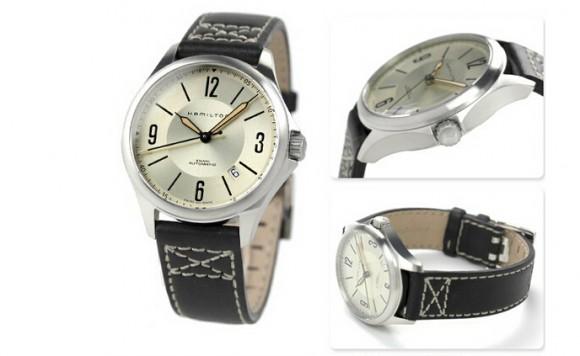 好价,HAMILTON H76565725 汉米尔顿卡其航空系列男款机械手表