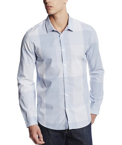 海淘男士衬衣推荐,Calvin Klein 纯棉休闲长袖衬衫