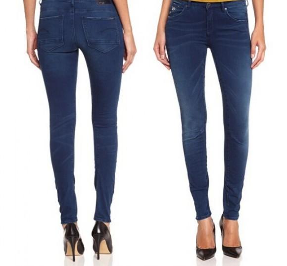 历史新低,G-Star Arc 3D 女士3D紧身牛仔裤