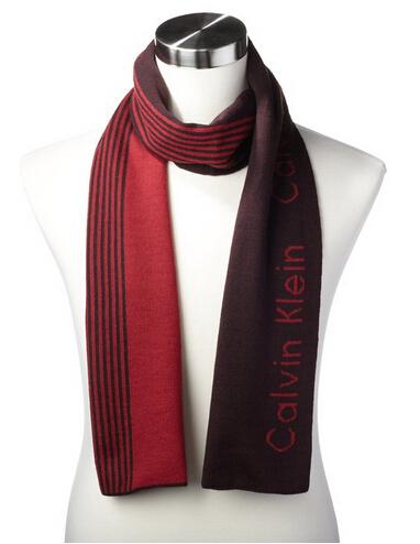 两色可选,适合凑单,Calvin Klein 男士纯羊毛围巾