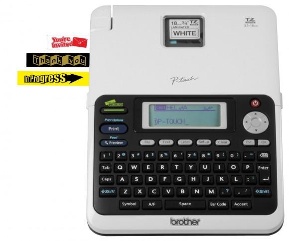 好玩的打印机,Brother PT2030VP 兄弟桌面式标签打印机