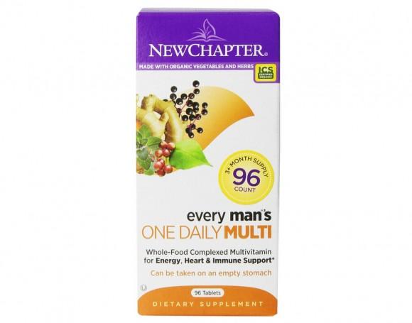 历史最低价,New Chapter 新章40岁以下男性每日一片96粒装