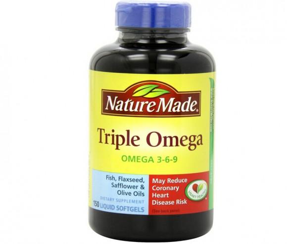 150粒新低,Nature Made 莱萃美三倍复合鱼油