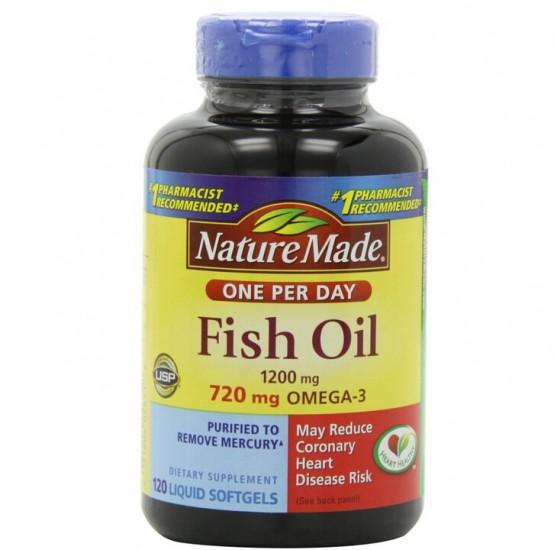 补货手快有!Nature Made 莱萃美Omega-3深海鱼油