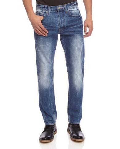 历史新低白菜价,G-Star 3301 男士直筒牛仔裤