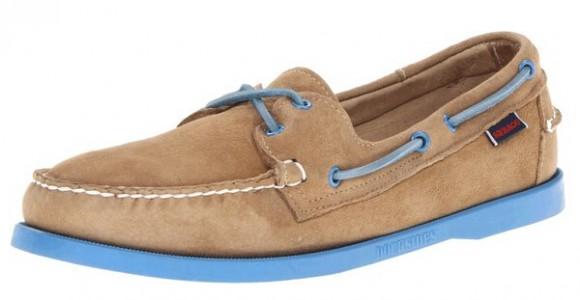手工鞋新低,Sebago Docksides 仕品高男士休闲船鞋