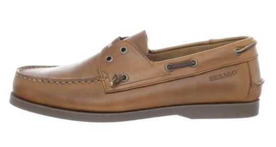 两色历史新低,SEBAGO 仕品高男士真皮经典船鞋