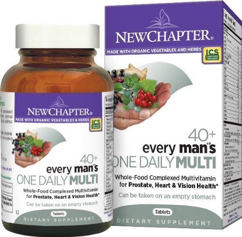 96粒新低,New Chapter 新章40岁以上男性每日一粒复合维生素